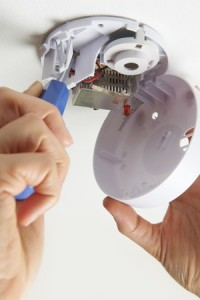 49371783 - installing smoke detector at home